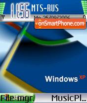 Windows XP 03 es el tema de pantalla