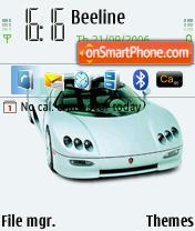 Super Car theme screenshot