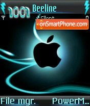 Apple 06 theme screenshot