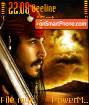 Captain Jack theme screenshot