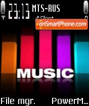 Color Music es el tema de pantalla