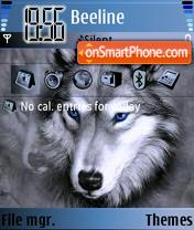Volk theme screenshot