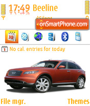 Infiniti FX45 02 theme screenshot