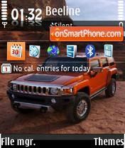 Hummer 07 theme screenshot