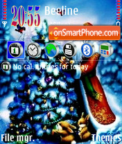 Santa 07 theme screenshot