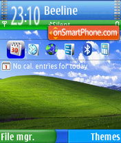 Nokia xp theme screenshot