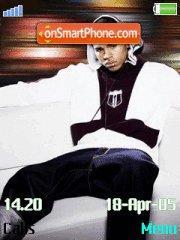 Скриншот темы Chris Brown