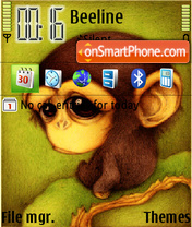 Chimpance theme screenshot