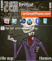 Skeleton theme screenshot