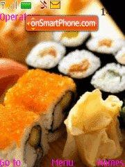 Sushi tema screenshot