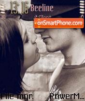 Romance theme screenshot