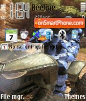Halo 3 theme screenshot
