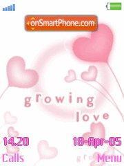 Growing Love es el tema de pantalla