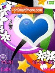 Abstract Heart es el tema de pantalla