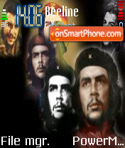 Che theme screenshot