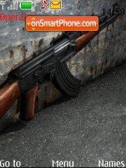 Скриншот темы AK-47