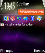 New N95 Themes theme screenshot