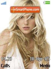 Britney Spears es el tema de pantalla