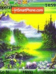 Green Magic Theme-Screenshot