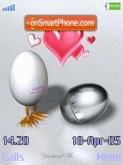 Eggs tema screenshot