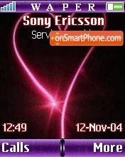 Pink Hearth theme screenshot