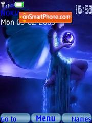 Blue Butterflies theme screenshot