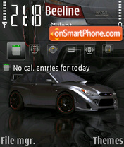 Subaruimpreza theme screenshot