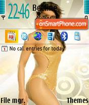 Priyanka Chopra 04 theme screenshot