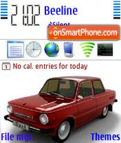 Zaz 01 theme screenshot