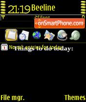 Things 2 doy theme screenshot