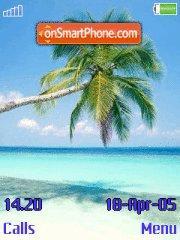 Palm theme screenshot