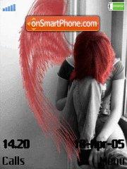Red Angel theme screenshot