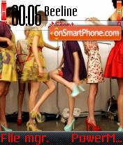 Fashionistas es el tema de pantalla