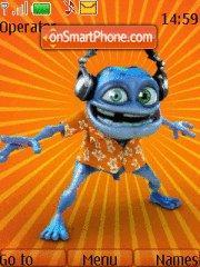 Скриншот темы Crazy Frog 04