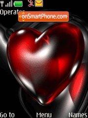Valentine Hearts 01 theme screenshot