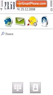 Cool V5 theme screenshot