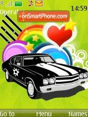 Color Car theme screenshot