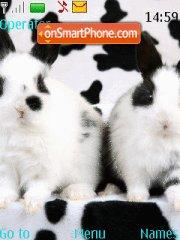 Rabbits tema screenshot