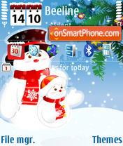 Winter 2009 v1 DI theme screenshot