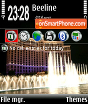 Belagio theme screenshot