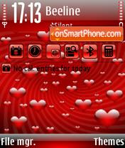Valentine 2 theme screenshot