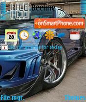 Nissan Skyline 2 es el tema de pantalla