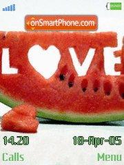 Watermelon tema screenshot