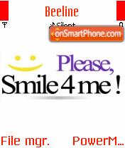 Smile 4 Me theme screenshot