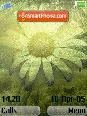 My Flower es el tema de pantalla