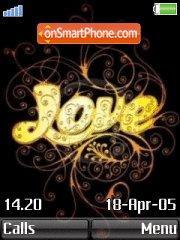 Golden Love es el tema de pantalla