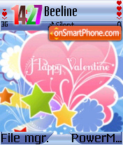 Happy Valentine 02 es el tema de pantalla