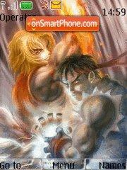 Street Fighter 2 Remix tema screenshot