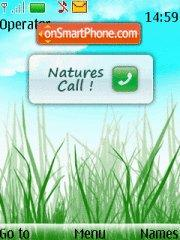 Natures Call 01 theme screenshot