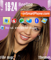 Jessica Alba v2 theme screenshot
